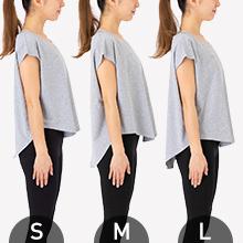 Size比較(モデル身長 159㎝)