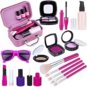 kids makeup kit for girl non toxic for little girls age 3 4 5 6 7 8 9 10 year