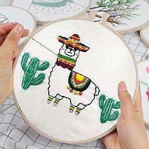 Fun Embroidery Kits