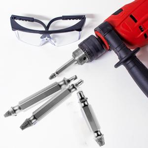 Homoutils, screw extractor, screw extractor kit, damaged screw extractor set, diy tools, screws