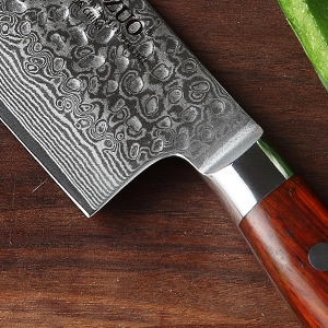 The blade is sharp and sturdy, you could slice your meat and vegetables easily as thin as you like.