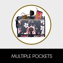 2-in-1 changing mat clutch bag outer pockets for mom accessories keys phone sunglasses wrist strap