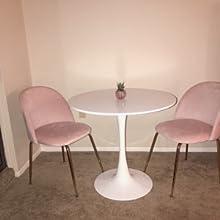 velvet upholstered vanity chairs