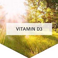 Vitamin D3 + Vitamin C + Zinc + Elderberry