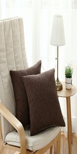 Sunday Praise Solid Pillow Covers