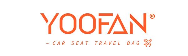 YOOFAN car seat travel bag
