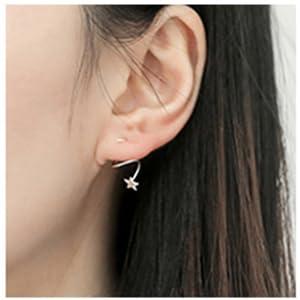 star_earrings_for_women_girls
