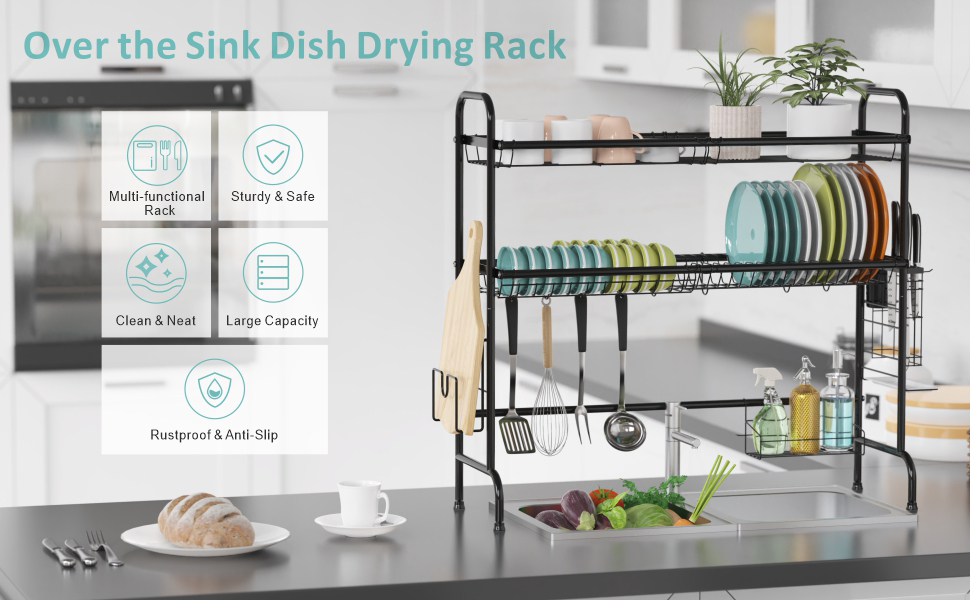 large dish rack