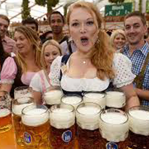 Enjoy the ice beer party