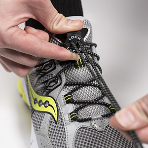 : LOCK LACES (Elastic Shoelace and Fastening