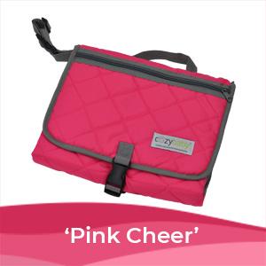 baby changing pad pink