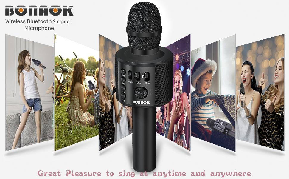 Karaoke Singing Microphone