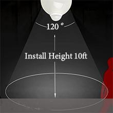 outdoor motion sensor light bulb