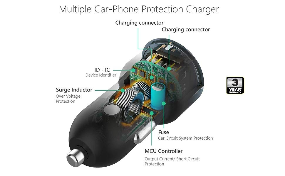 fast charger car car charger 3 1 phone charger car car mobile chargers 16v car charger fast car