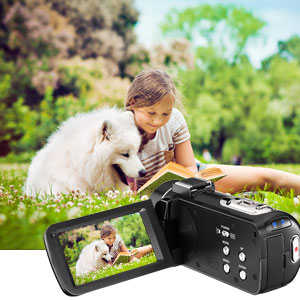 Flashandfocus.com 700e6027-c0a8-4961-acc4-e9132485312f.__CR0,0,300,300_PT0_SX300_V1___ Video Camera 2.7K Camcorder with Microphone Ultra HD 36MP Vlogging Camera for YouTube IR Night Vision 3 Inch Touch…