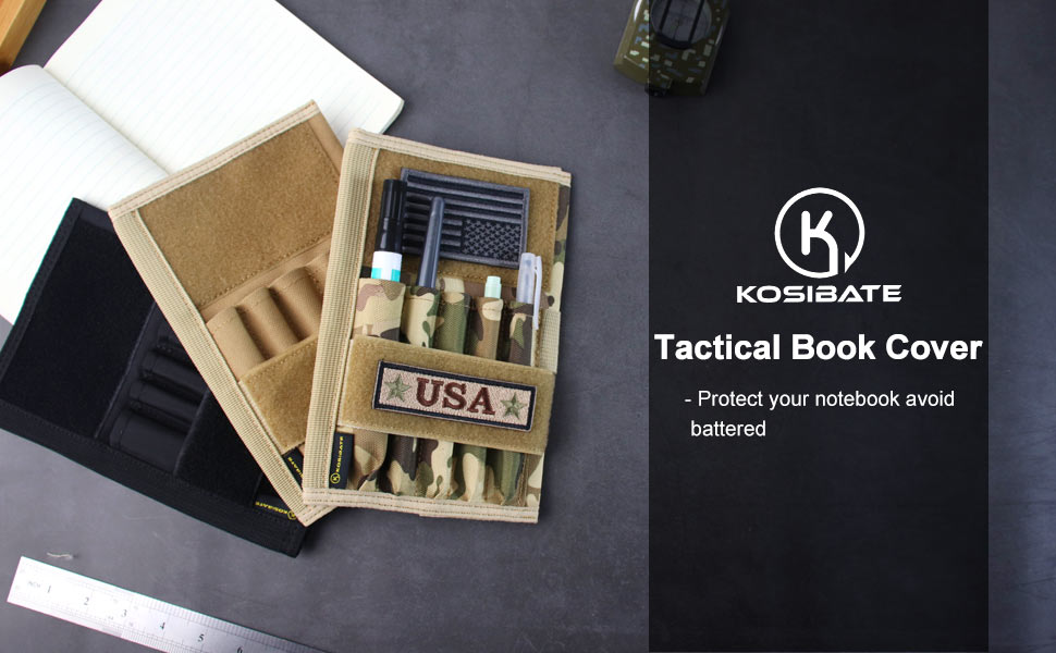 tactical notebook cover