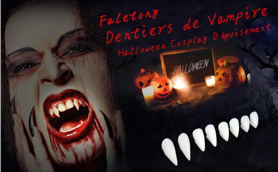 Music Vampire loups-garous crocs Faux Dentier Dents Costume Halloween
