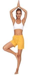 jersey cotton shorts women