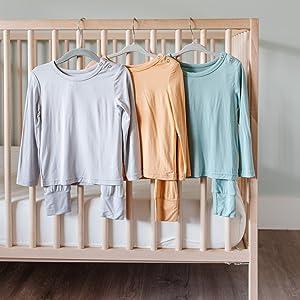 hanging bamboo pajamas