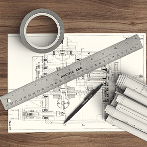 Reliable Stainless Steel Ruler
