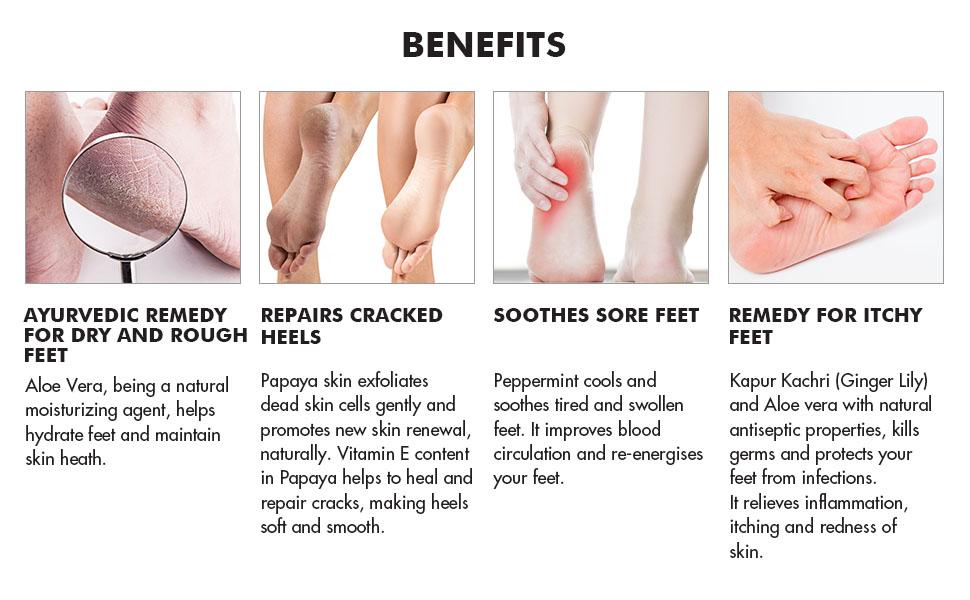 moha: foot care cream benefits