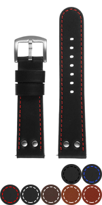 Pilot Strap with Rivets