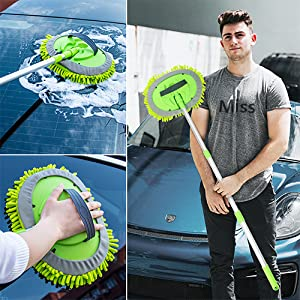 car wash brush microfiber