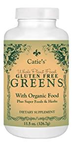 Catie's Gluten Free Greens