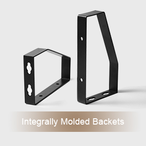 Integrally Molded Brackets