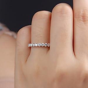 gold silver diamond rings for women