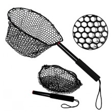 Fly Fishing Net Foldable Fish Landing Net,Super Strong,Easy to Carry Store,Safe Catch and Release