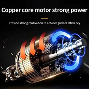 Copper core moter strong power