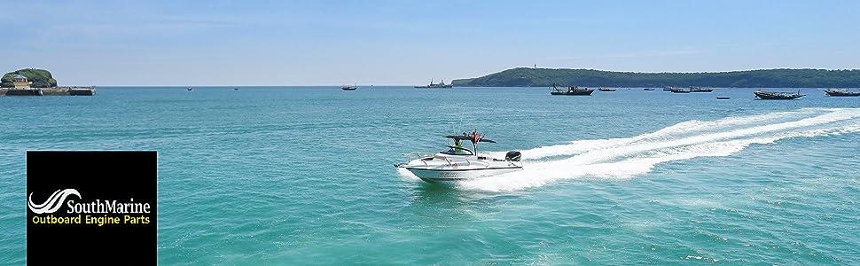 Boat Motor Rectifier /& Regulator Assy 6J8-81960-00 for Yamaha Outboard Engine