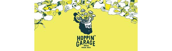 HOPPN'GARAGE logo