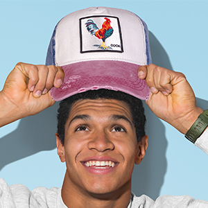 cock baseball cap
