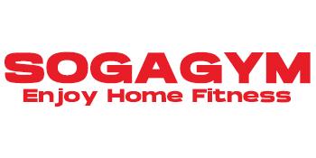 SOGAGYM LOGO ENJOY HOME FITNESS HEALTHY LIFE