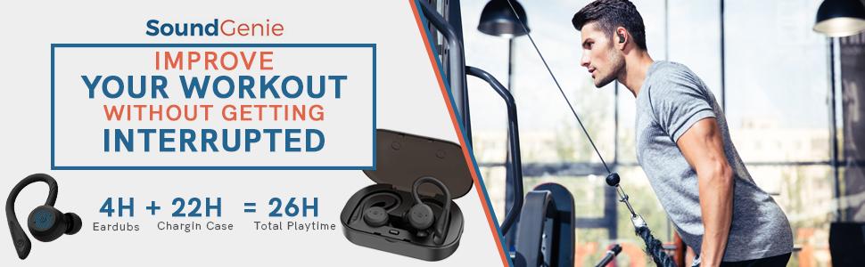 gym earphones waterproof