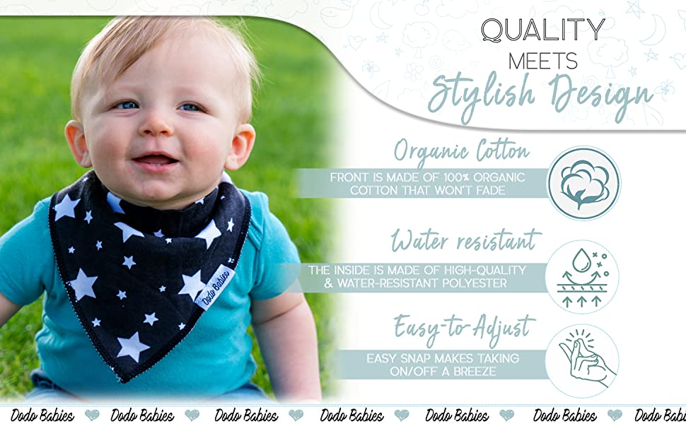 set best organic cotton drooling and new dribble infant sets scarf handkerchiefs toddler deer cloth