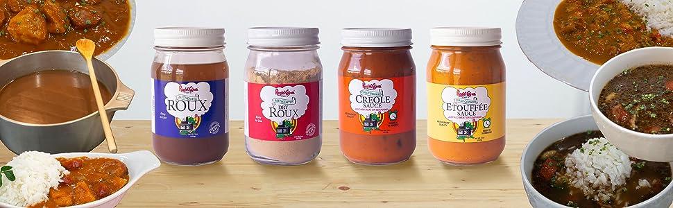 Ragin' Cajun Sauces & Rouxes