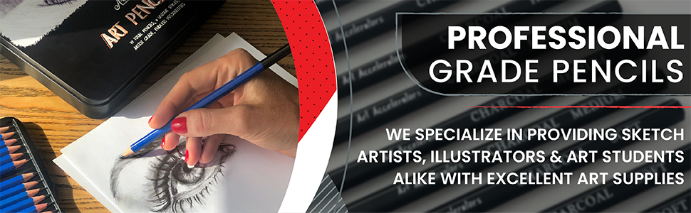 Art Pencil Pencils Drawing Kit Set Sets Sketching Coloring Watercolor Color Graphite Charcoal kit