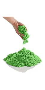 CoolSand 14 ounce refill pack kinetic play sand for kids and adults