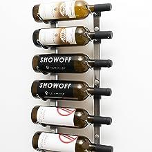 wine rack, metal wine rack, modern wine rack, wall mounted wine rack