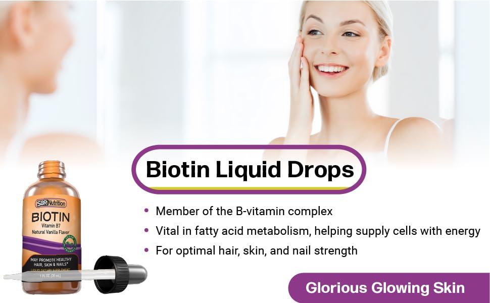 biotin liquid drops