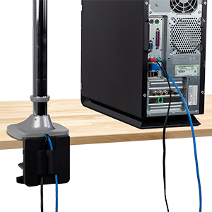 triple monitor mount with usb port