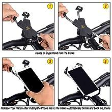visnfa bike phone mount holder