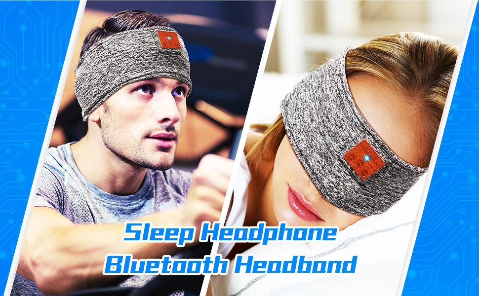 Schlafen Stirnband Verbessertes Bluetooth Stirnband Elektronik