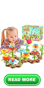 Flower Building Toys