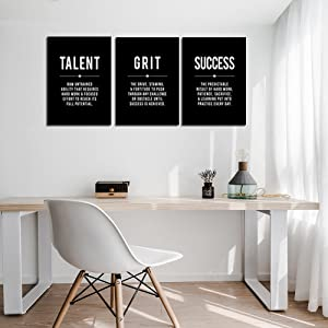 Motivational Quote Picture Wall Art
