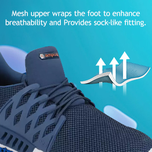 Mesh Upper Wraps The Foot to Enhanced Breathability And Provides Sock-Like