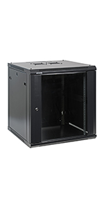 Professional Wall Mount IT Network Cabinet Enclosure 19-Inch Server Rack